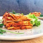Recette lasagne vegan express
