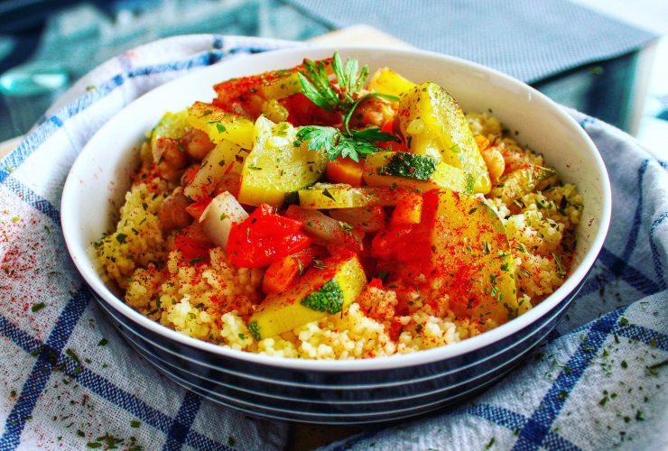 Recette couscous vegan sans viande