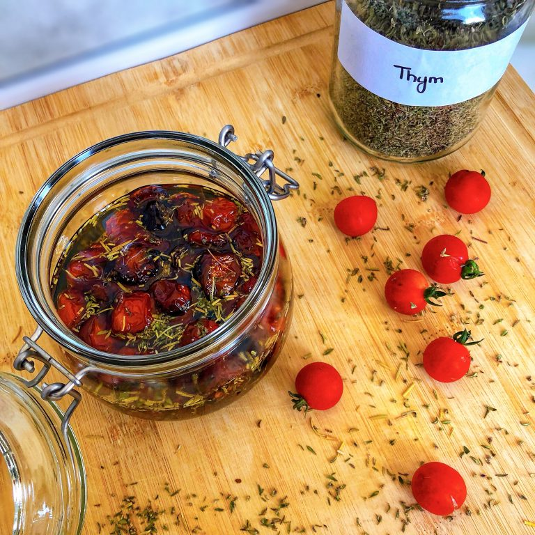 Recette tomates séchées maison