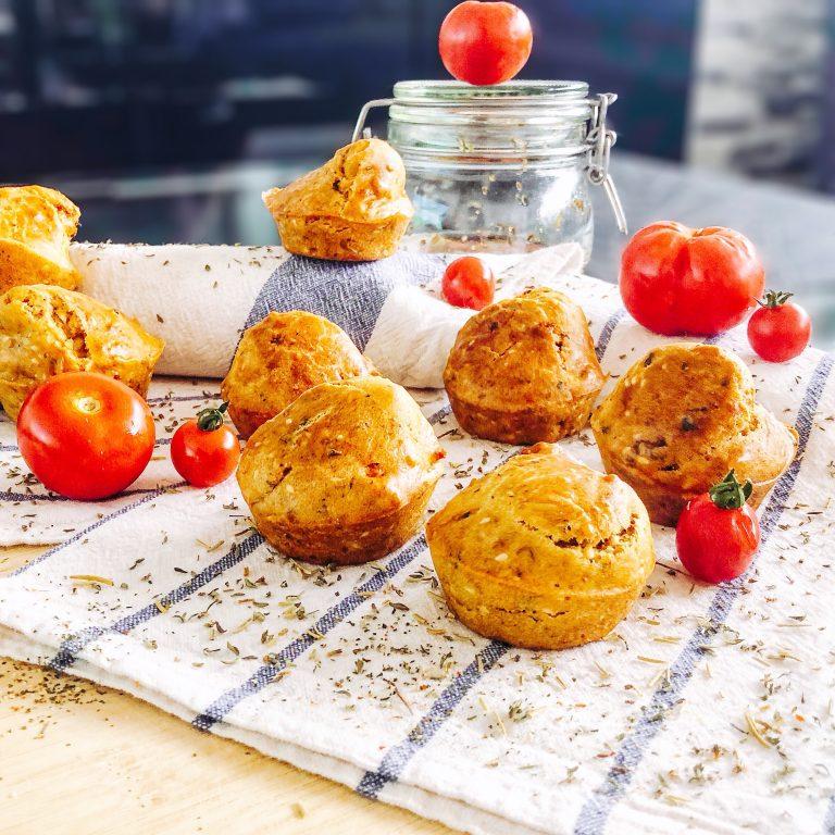 Recette muffins tomates séchées vegan
