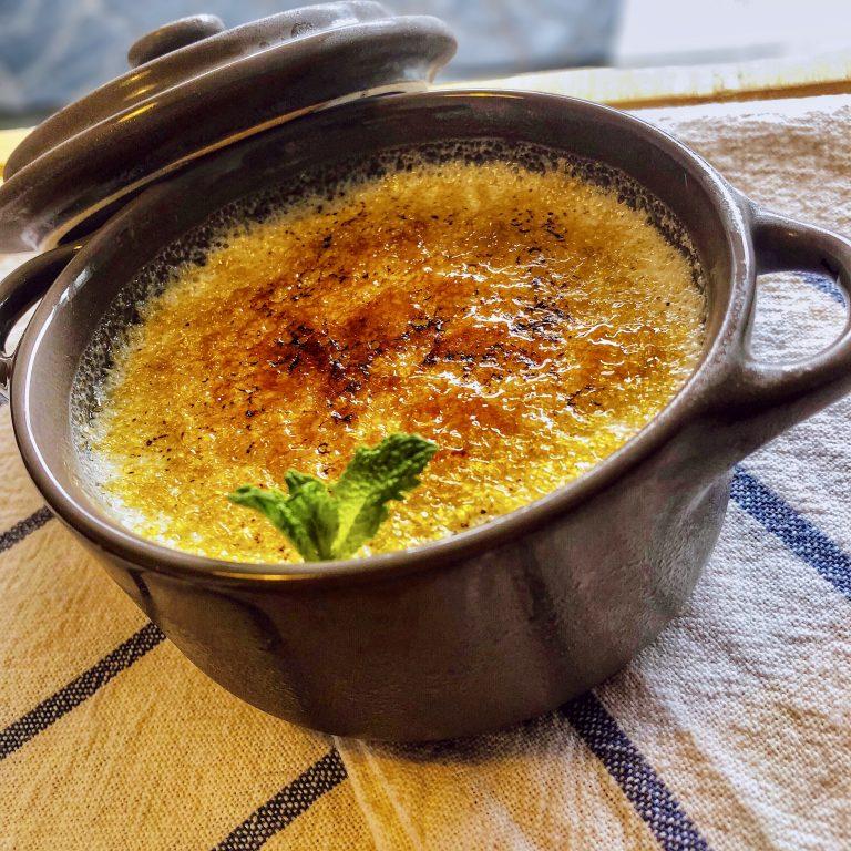 Crème Brulée Végétale