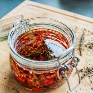 Mélange Tomates/Poivrons/Oignons séchés