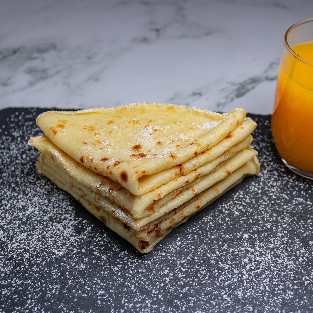 Recette crêpes vegan sans oeufs et sans lait de vache
