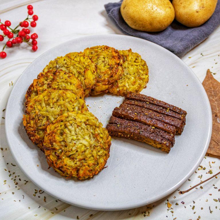Recette galettes de pommes de terre façon rostis