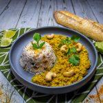 Recette dhal de lentilles corail coco vegan