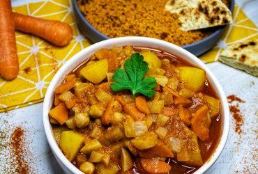 Recette couscous vegan hiver