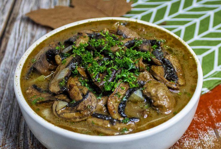 Recette champignons stroganoff vegan