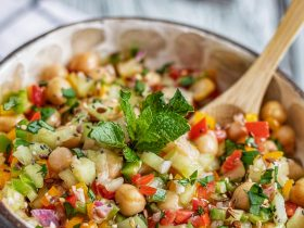 Recette salade pois chiche simple